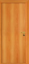 Межкомнатная дверь, полотно глухое миланский орех