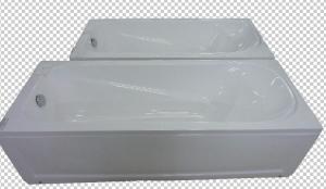 Ванна акриловая (1200х700х500) с экраном