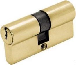 Цилиндр DIN 60 ключ/ключ золото 3кл.