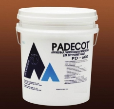 Шпатлевка для внутр. работ, SSANGKOM PADECOT PD-600. 25 кг/ ведро