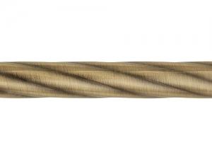 Карниз кованый Твист ф16 2,4м 2-х рядн.