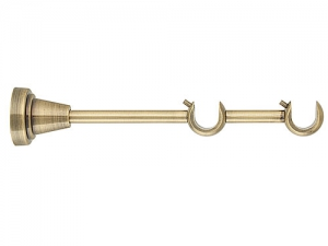 Карниз кованый Твист ф16 2,8м 2-х рядн.