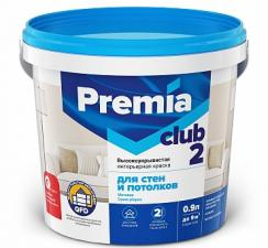 Краска для стен и потолков Premia