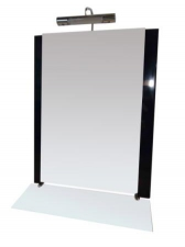 Зеркало Дафна 55 черное 510-09