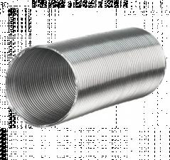 Канал вентиляционный, гибкий воздуховод Алювент Ф100-150мм 2,7м