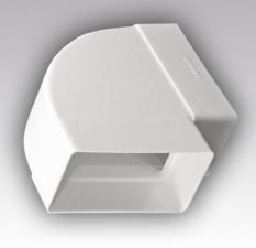 Колено горизонтальное 90° для прямоугольных воздуховодов КГП