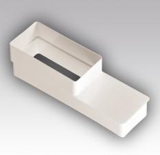 Соединитель эксцентриковый прямоугольных воздуховодов 55х110 / 60х204 РП