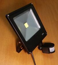 Прожектор 10Вт 1 LED с датчиком движения1801-42