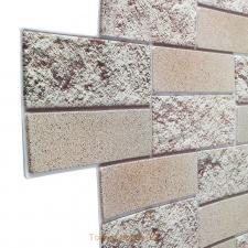Панель декоративная ПВХ 0,98х0,49м кирпич облицовочный