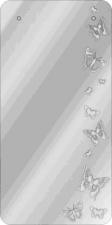"""Зеркало  """"Полет бабочки"""" 1100х500 пескостр. рисунок"""
