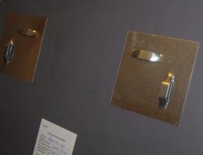 """Зеркало  """"Цветочный орнамент-1"""" Ф700 пескостр. рисунок, подложка"""