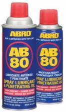 Смазка-спрей ABRO AB-80 тефлон