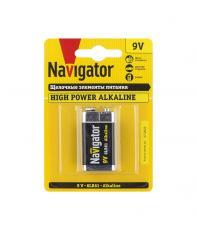 Батарейка Navigator 9V 6LR61 Alkaline