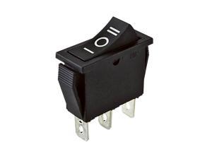 Переключатель сетевой 1кл. 13х29мм 15A 3полож. ON-OFF-ON