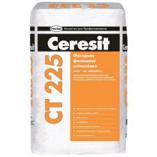 Шпатлевка цементная финишная Ceresit CT 225 белая