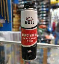 Очиститель монтажной пены BULL 500мл