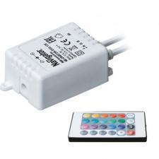 Контроллер для RGB LED  с пультом ДУ Navigator ND-CRGB72IR-IP20-12V 72Вт