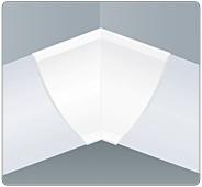 Угол внутренний плинтуса столешницы