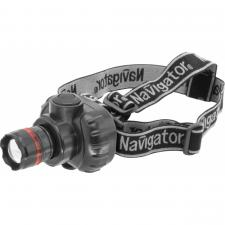 Фонарь налобный Navigator NPT-H03-3AAA