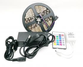 LED лента LS606 RGB с контроллером 12V IP22 Feron