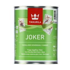 Краска интерьерная Tikkurila JOKER матовая