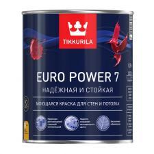 Краска в/д Tikkurila EURO POWER 7 (А) матовая