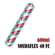 Герметик силикон Soudal белый 600мл