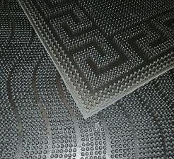 Коврик напольный резиновый 40х60см (2040)