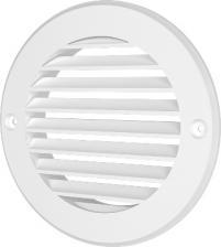 Решетка круглая РК ф130 с фланцем ф100