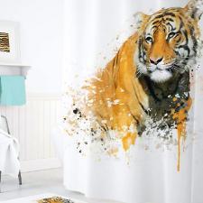 Шторка для душа 180х200 Tropikhome DIGITAL PRINTED Tiger