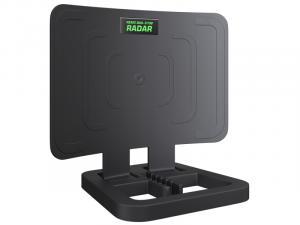 """Антенна ком. МВ+ДМВ """"RЕМО BAS-5106-USB Radar"""" активная DVB-T/DVB-T2, встр усилитель"""