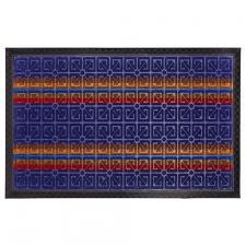 Коврик комб. синий Мультиколор HOMEMAT DETAIN 40х60см