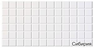 Панель ПВХ 0,96х0,48м Граненый квадрат Сибирия
