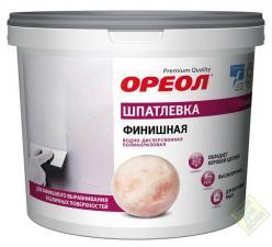 Шпатлевка Ореол 1,5кг. финишная полиарил. внутр.работы