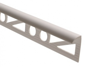 Уголок для плитки 2,5м наружный белый