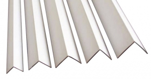Уголки отделочные ПВХ белые 2,7м
