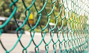 Сетка заборная рабица с ПВХ покр.1,8х10м ячейка 50х50х2,2мм зеленая
