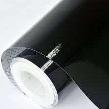 Обои, пленка самоклеющаяся 45смх8м 7016В черная глянец