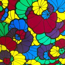Самоклеющаяся плёнка 0,45х8м DELUXE 9210-45, витражная на стекло цветная