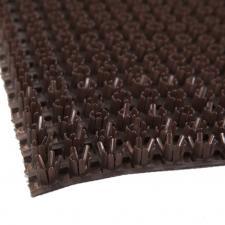 """Коврик-дорожка """"Травка""""  шир.0,9м коричневый на основе"""