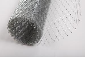 Сетка штукатурная ЦПВС ячейка 30х30мм 0,7мм ширина 1м. рулон 20м