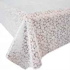 Клеенка на стол ажурная Pontelambro Felicita ITTO 1,4м беж