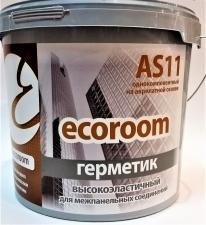Герметик-мастика Ecoroom As11 15кг. серый для межпанельных соединений