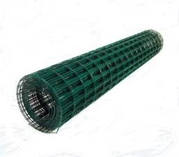 Сетка заборная сварная с ПВХ покрытием 1,8х10м ячейка 50х100х2,5мм