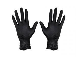 Перчатки нитриловые АДМ черные