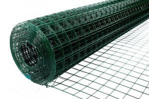 Сетка заборная сварная с ПВХ покрытием 1,8х30м ячейка 50х50х1,8мм