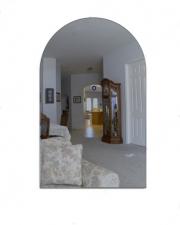 Зеркало Арка 670х520 фацет вкруговую