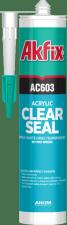 Герметик-акрил Akfix AC603 прозр.