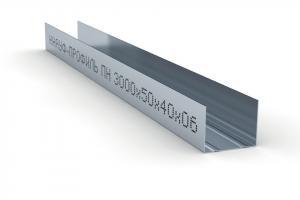 Профиль потолочный направляющий КНАУФ 50х40 3 м. 0,6мм
