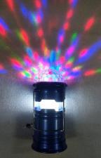 Фонарь диско шар. аккумуляторный кемпинг +ручной 5809Т
